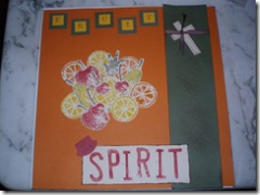 Fruit of the Spirit page