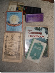 Vintage games and books