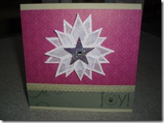 Bling snowflake card-2