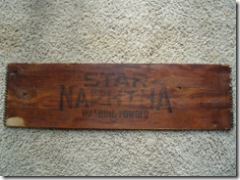Star Naptha box