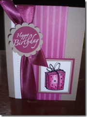 Pomegranate Kraft Card